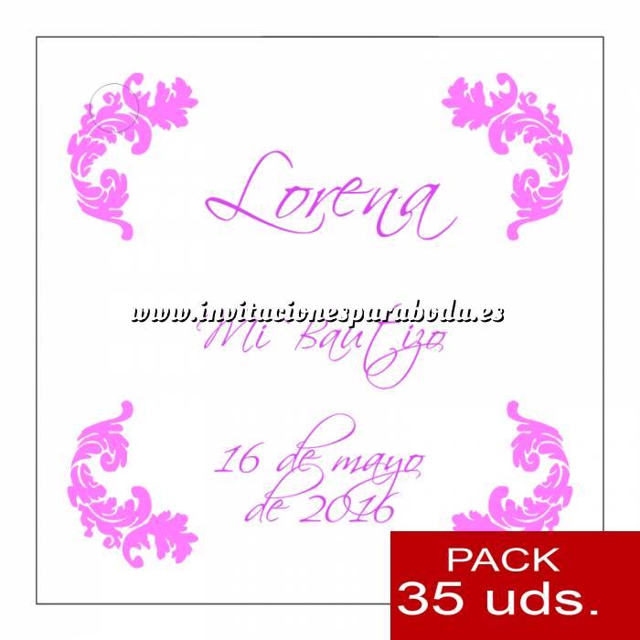 Imagen Etiquetas personalizadas Etiqueta Modelo C22 (Paquete de 35 etiquetas 4x4)