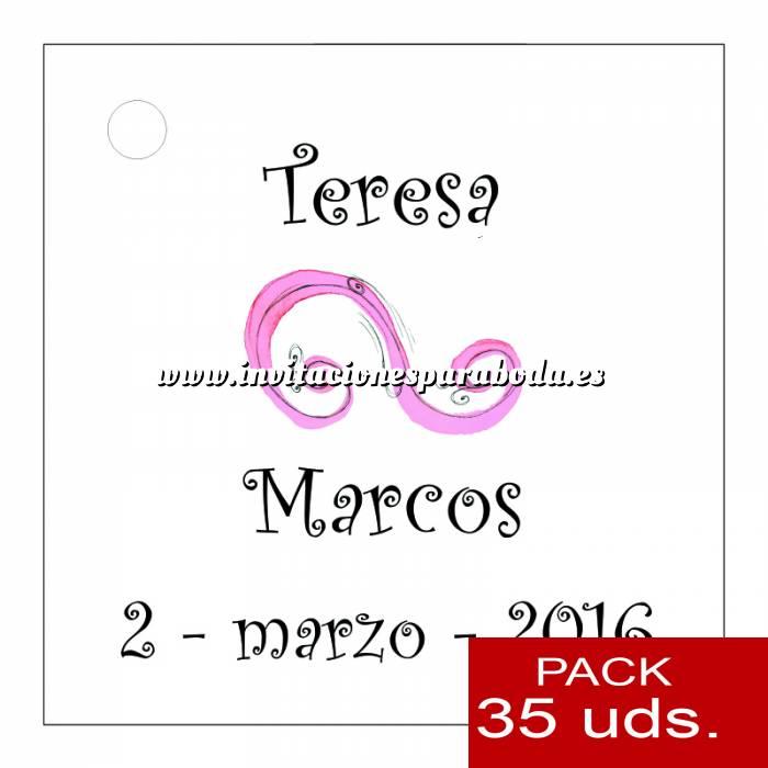 Imagen Etiquetas personalizadas Etiqueta Modelo F07 (Paquete de 35 etiquetas 4x4)
