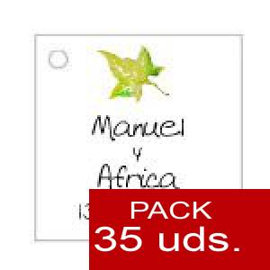 Imagen Etiquetas personalizadas Etiqueta Modelo C07 (Paquete de 35 etiquetas 4x4)