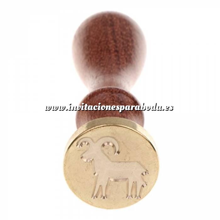 Imagen Diseños inmediatos Sello lacre mango largo - SIGNOS DEL ZODIACO - Aries (Últimas Unidades)