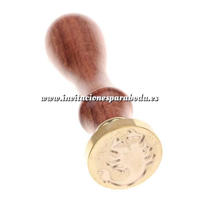 Imagen Diseños inmediatos Sello lacre mango largo - SIGNOS DEL ZODIACO - Escorpio (Últimas Unidades)
