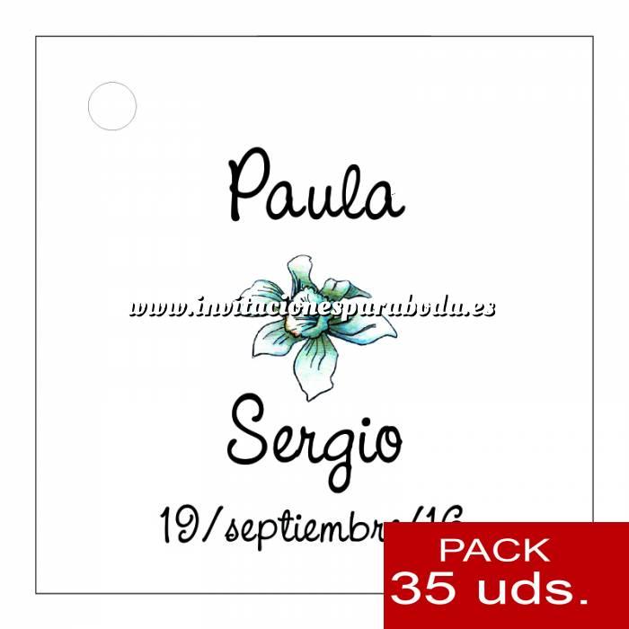 Imagen Etiquetas impresas Etiqueta Modelo A15 (Paquete de 35 etiquetas 4x4)