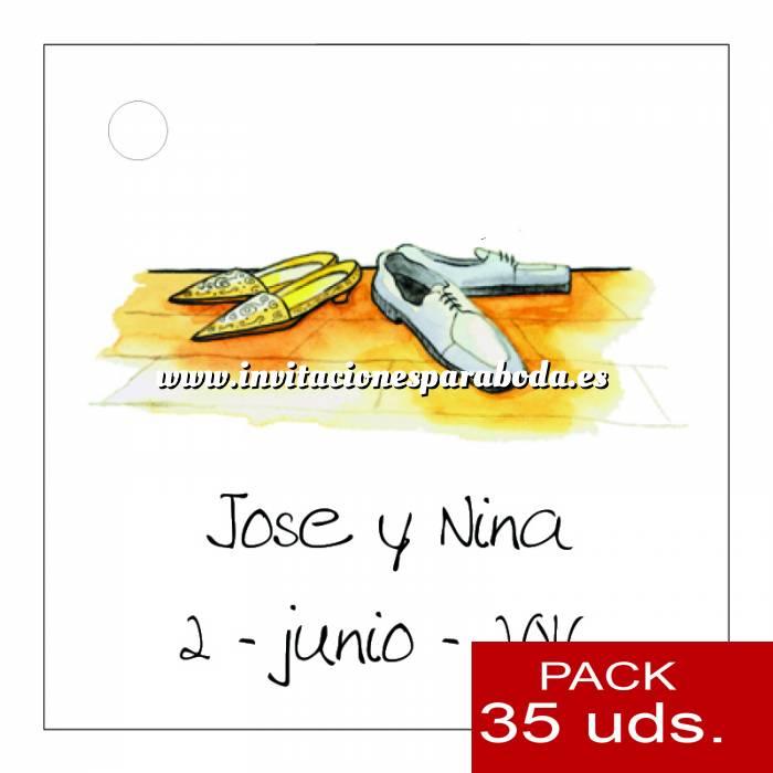 Imagen Etiquetas impresas Etiqueta Modelo E05 (Paquete de 35 etiquetas 4x4)