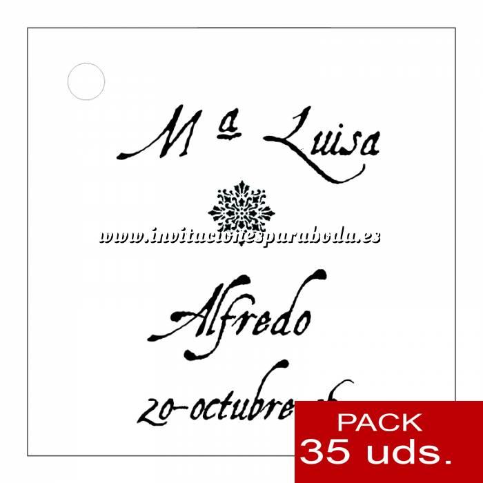 Imagen Etiquetas impresas Etiqueta Modelo F12 (Paquete de 35 etiquetas 4x4)