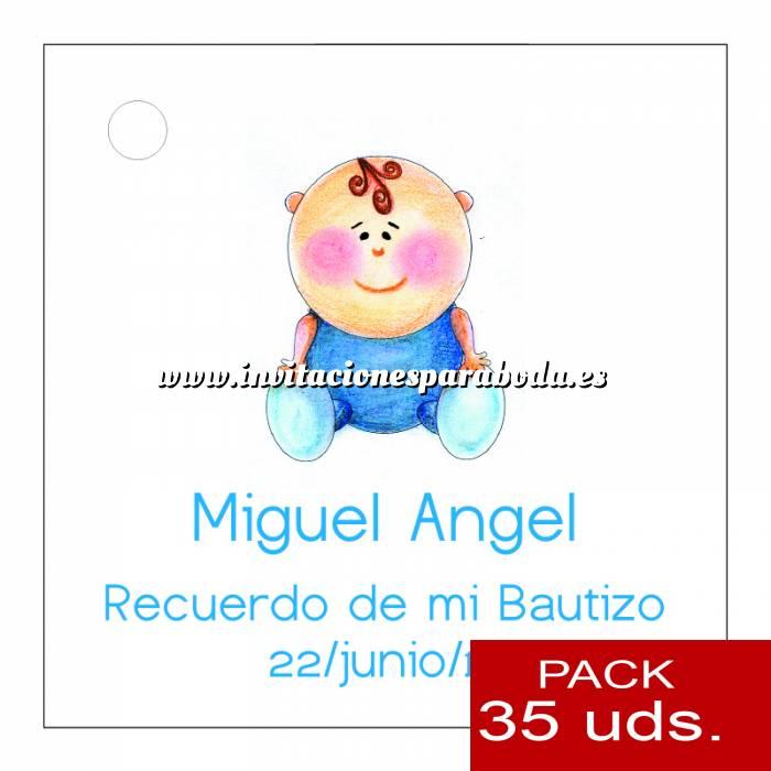 Imagen Etiquetas impresas Etiqueta Modelo F16 (Paquete de 35 etiquetas 4x4)