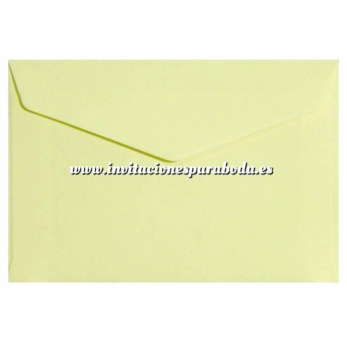 Imagen Sobres C5 - 160x220 Sobre Amarillo pálido pico c5