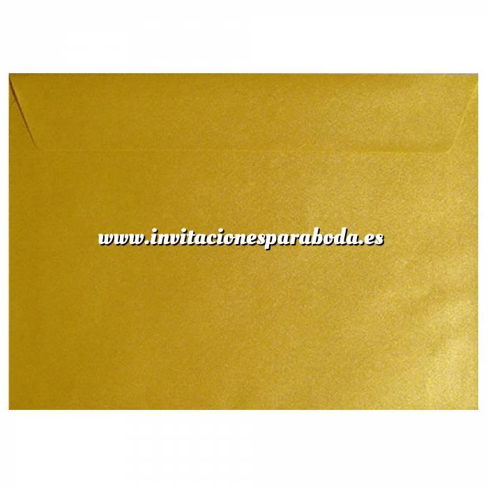 Imagen Sobres C5 - 160x220 Sobre textura amarillo c5