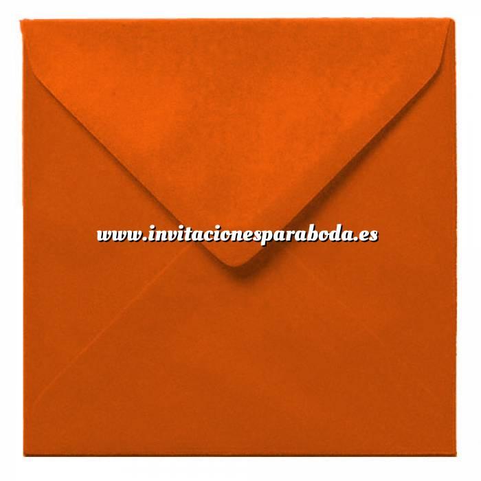 Imagen Sobres Cuadrados Sobre naranja Cuadrado