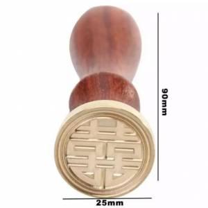 Diseños inmediatos - Sello lacre mango largo - SIMBOLO CHINO (Últimas Unidades)