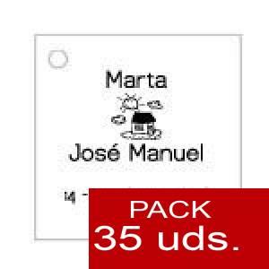 Imagen Etiquetas impresas Etiqueta Modelo A06 (Paquete de 35 etiquetas 4x4)