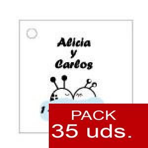 Imagen Etiquetas impresas Etiqueta Modelo A08 (Paquete de 35 etiquetas 4x4)