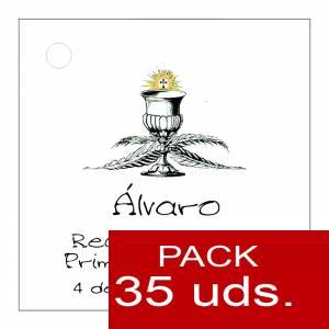 Etiquetas impresas - Etiqueta Modelo A20 (Paquete de 35 etiquetas 4x4)