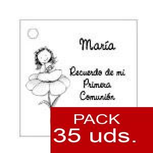 Imagen Etiquetas impresas Etiqueta Modelo A24 (Paquete de 35 etiquetas 4x4)