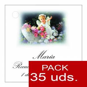 Etiquetas impresas - Etiqueta Modelo B25 (Paquete de 35 etiquetas 4x4)