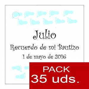 Etiquetas impresas - Etiqueta Modelo D23 (Paquete de 35 etiquetas 4x4)