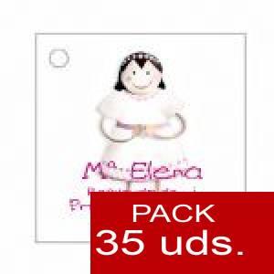 Imagen Etiquetas impresas Etiqueta Modelo E13 (Paquete de 35 etiquetas 4x4)