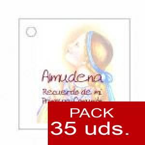 Imagen Etiquetas impresas Etiqueta Modelo E14 (Paquete de 35 etiquetas 4x4)