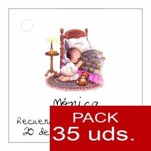 Etiquetas impresas - Etiqueta Modelo E21 (Paquete de 35 etiquetas 4x4)