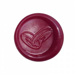 Lacres adhesivos - Sello de lacre Adhesivo anillos rojo