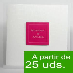 Modernas - Amor Amor 4007 - Fucsia y tarjeta de visita