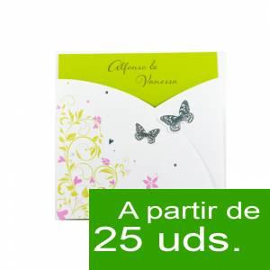Modernas - Amor Amor 4051 Mariposas y tarjeta de visita