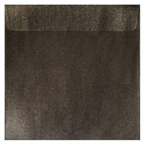 Sobres Cuadrados - Sobre Perlado marrón Cuadrado (Bronce)