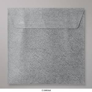 Sobres Cuadrados - Sobre gris oscuro Cuadrado textura brillante (CEB155MG)